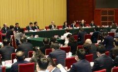 省政协十二届四次会议举行界别联组协